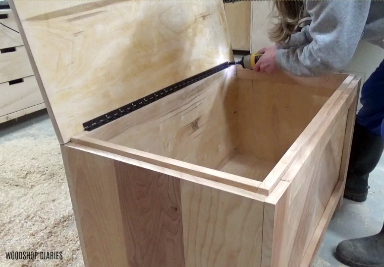 Awe Inspiring Diy Storage Bench From Purebond Rough Sawn Plywood Andrewgaddart Wooden Chair Designs For Living Room Andrewgaddartcom