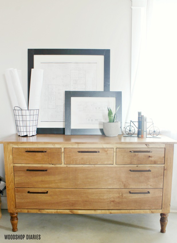 DIY Dresser Plans and Tutorial Video