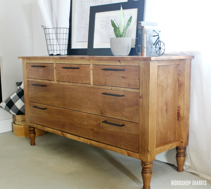 Build Your Own Diy Dresser Video And Step By Step Tutorial