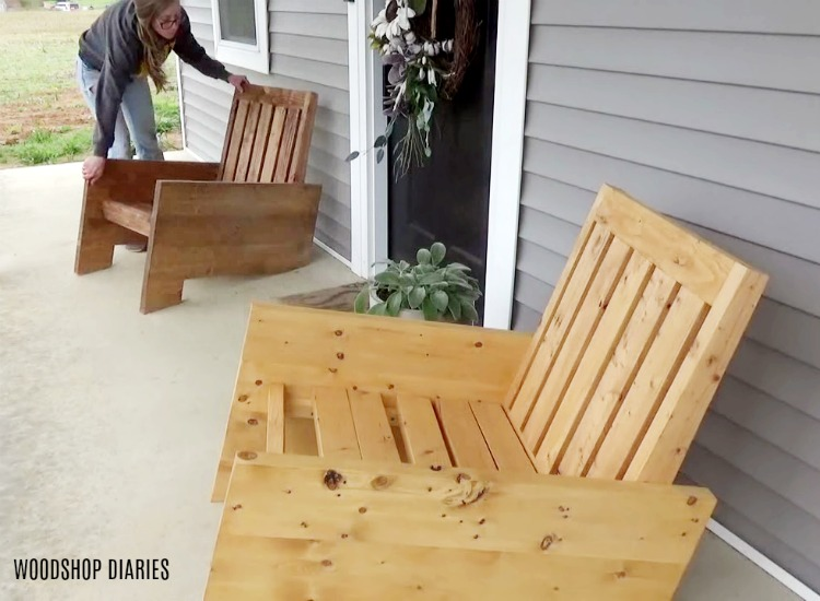 Prime Diy Modern Outdoor Chair Building Plans And Tutorial Ibusinesslaw Wood Chair Design Ideas Ibusinesslaworg
