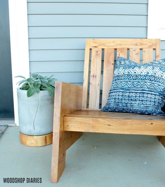 How to Build Your Own Patio Furniture--DIY Outdoor Chair