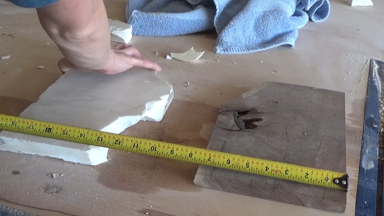 Measure size to make tray
