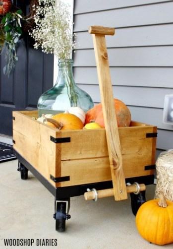 DIY Front Porch Wagon