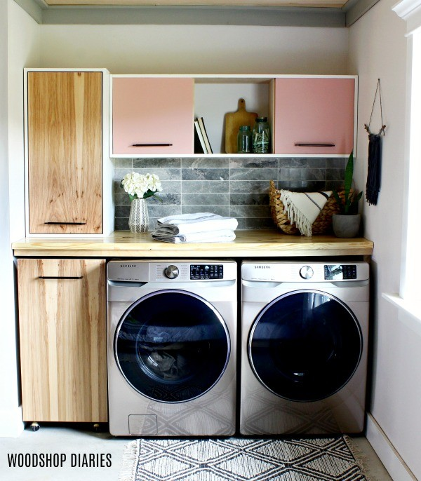 Front view of Laundry Room after remodel