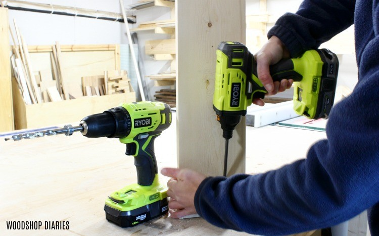 Ryobi drill driver set as gift guide idea under $100