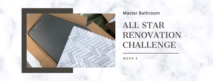 All star renovation challenge graphic for week 5