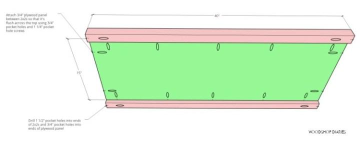 Shelf subassembly diagram