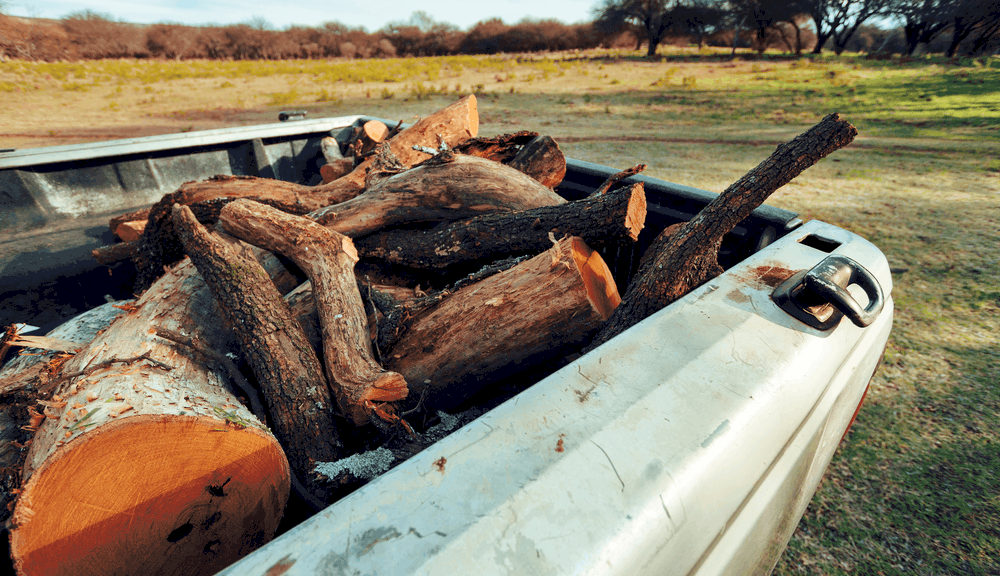 HOW MUCH IS A PICKUP TRUCK LOAD OF WOOD