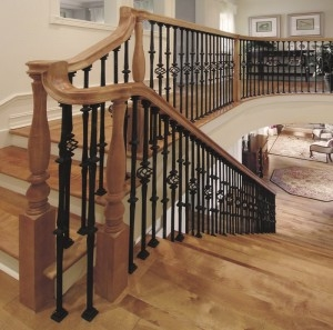 Stair Makeover – Replacing Wood Balusters With Wrought Iron Balusters   Installing Wrought Iron Balusters   Staircase   Stair Treads   Stair Parts   Iron Stair Spindles   Wood