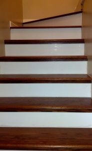 Red Oak Stair Parts Red Oak Railing Treads Risers Stair Parts | Brazilian Walnut Stair Treads | Laminate | Walnut Ipe Wood | Risers | Ipe Brazilian | Hardwood Flooring