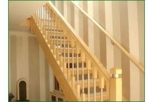 Hemlock Stair Parts Hemlock Handrail Balusters Hemlock Stair   Hemlock Handrails For Stairs   Basement Stairs   Newel Caps   Wooden Stairs   Wood   Newel Posts