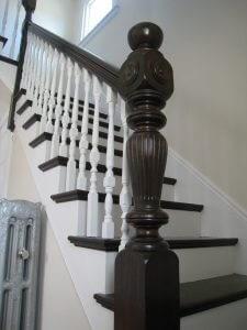 Box Newel Posts Vs Turned Newel Posts Wood Stairs | Turned Newel Post Designs | Type | Spiral | Round | Wood Baluster | Black