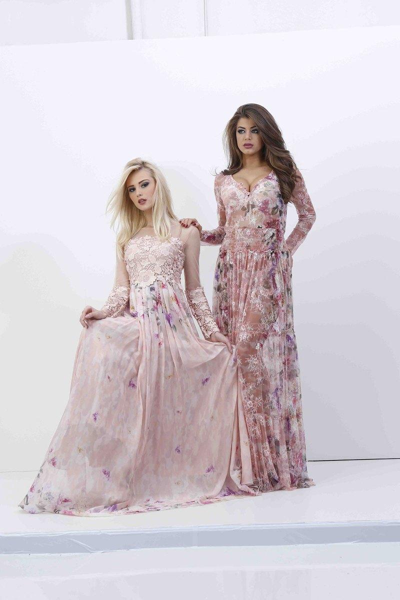 Theme Pink lace & silk