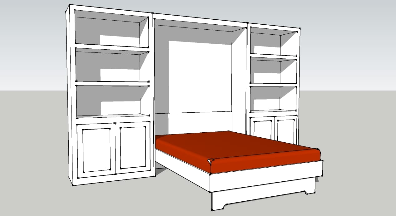 Pdf Plans Plans Now Murphy Bed Download Build Wood Window