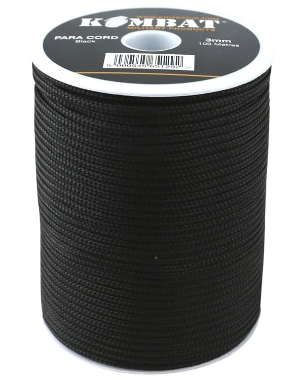Para Cord 3mm on 100m Reel