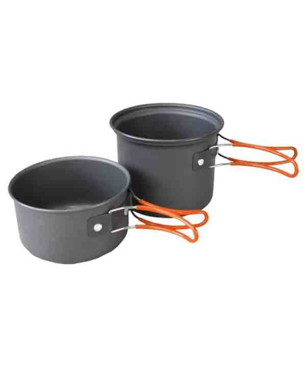 Kombat UK Anodised Aluminium Cookset
