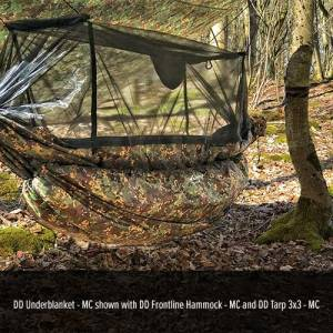 dd hammock underblanket - multicam