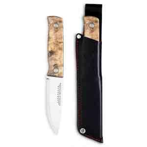 Marttiini Tundra GR Bushcraft Knife - Curly Birch