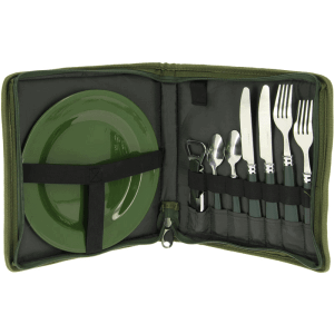 NGT Camping / Fishing Cutlery Set - 2 person set