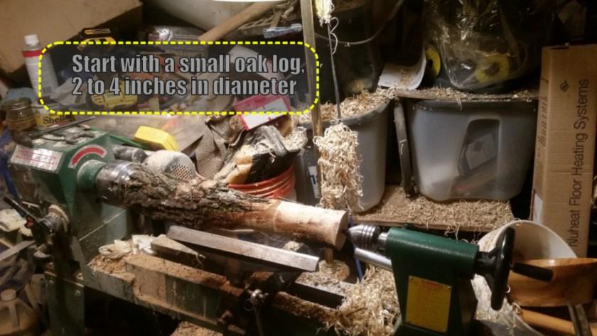 make a woodturning tool handle