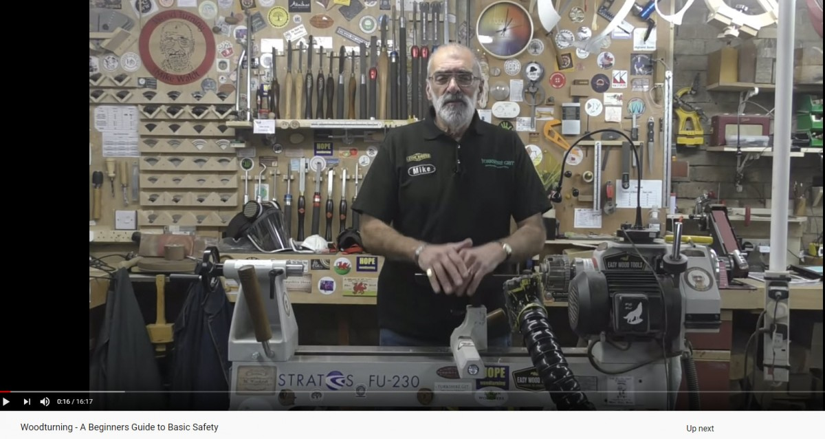 woodturning youtube videos Wood Turning Basics A Look Into The Wood Turners World