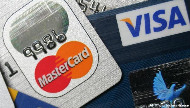generic credit cards mastercard visa AP_197341