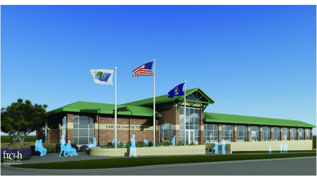 Cascade Township Hall rendering_214683