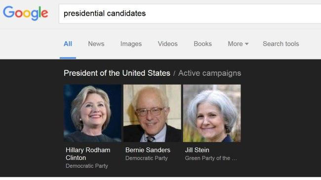 google president search_232397