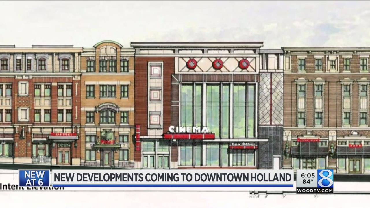 Movie theater, parking structure coming to Holland
