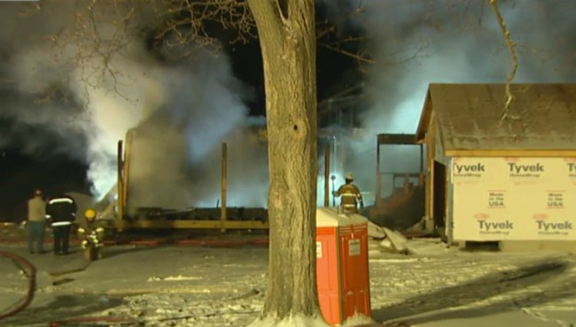 Vergennes Township house fire 011618_461429