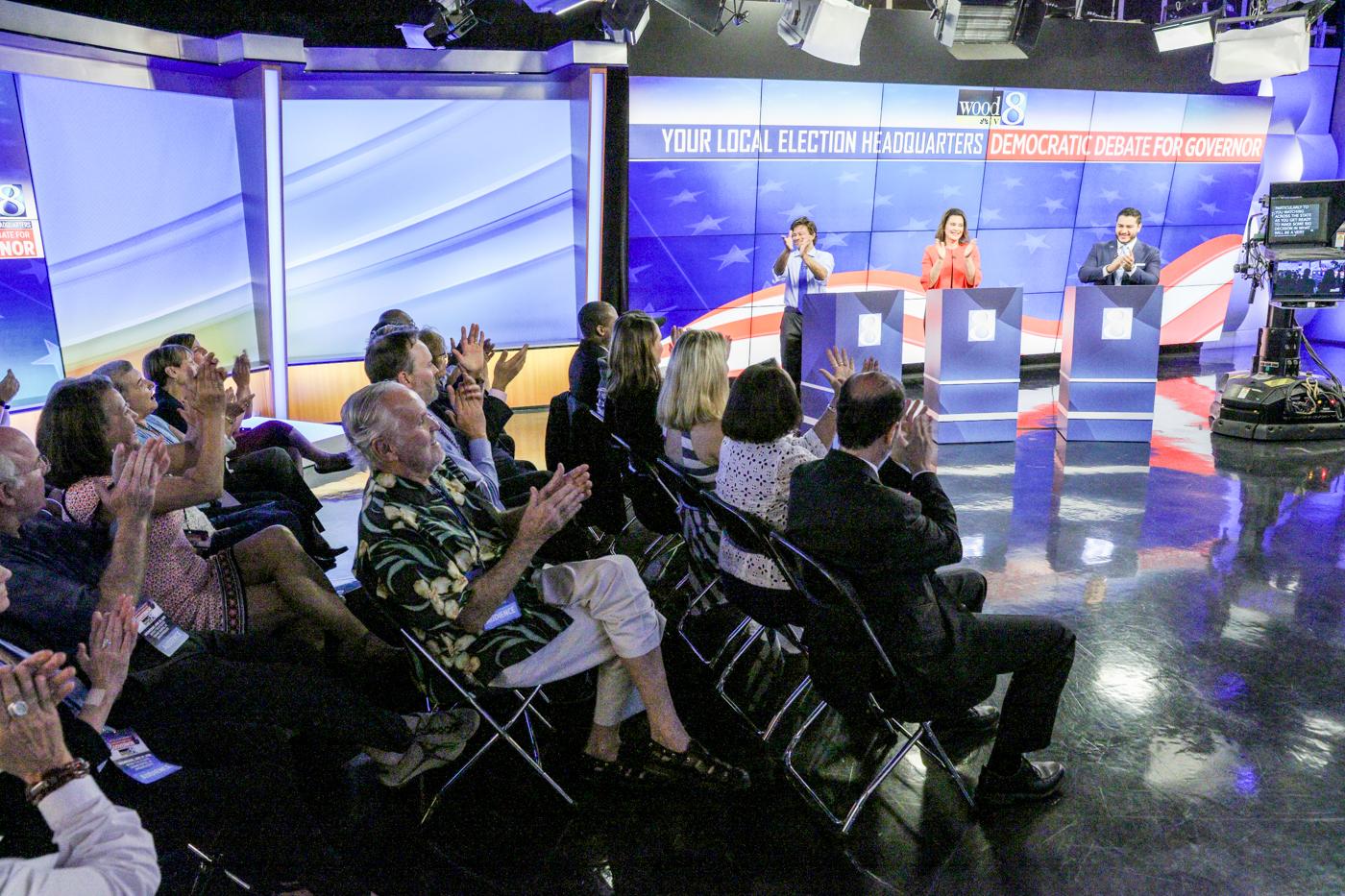 Michigan Democratic gubernatorial debate 062018 2