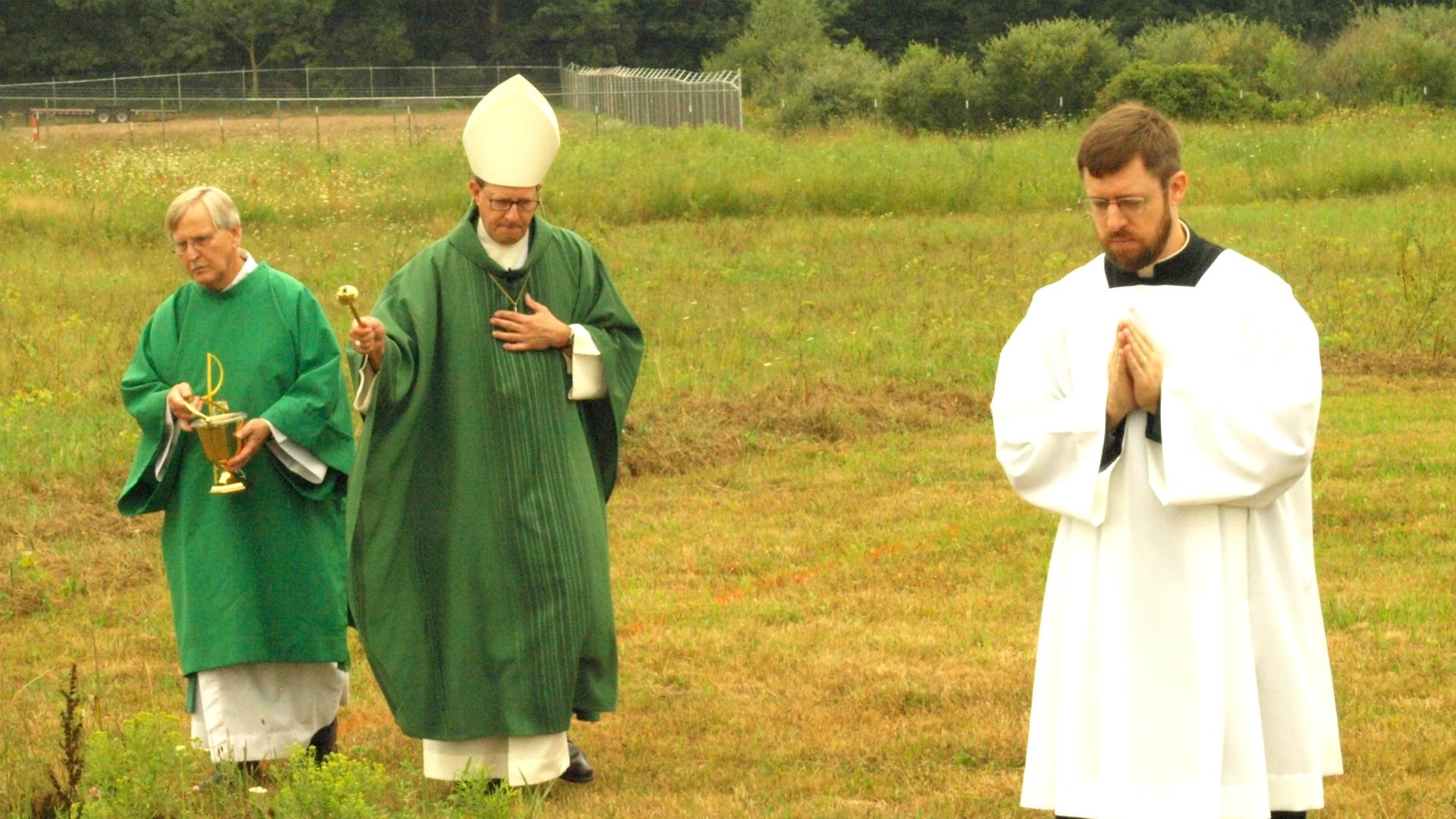 St. John Paul II Parish Cedar Springs groundbreaking 081918_1534728862096.JPG