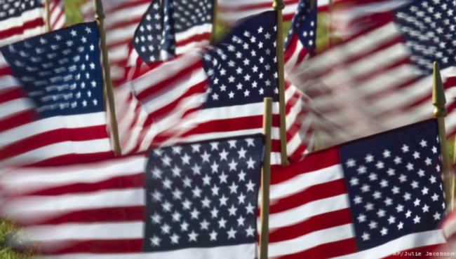 generic american flags small 3