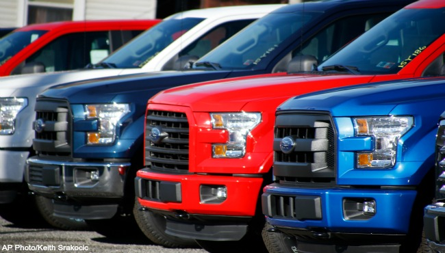 generic car sales generic auto dealership generic 2015 Ford F-150_175537