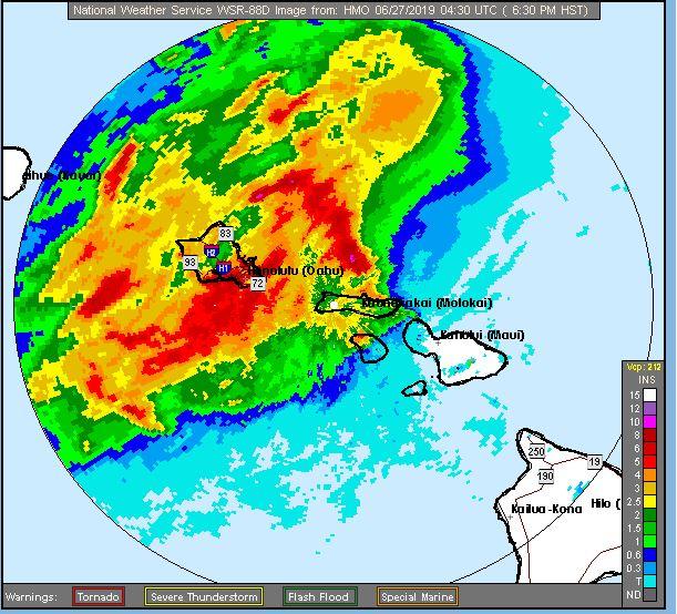 Heavy Rain Hits Hawaii | WOODTV.com on