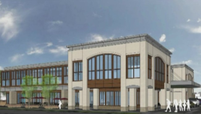 Kent District Library Ada branch rendering