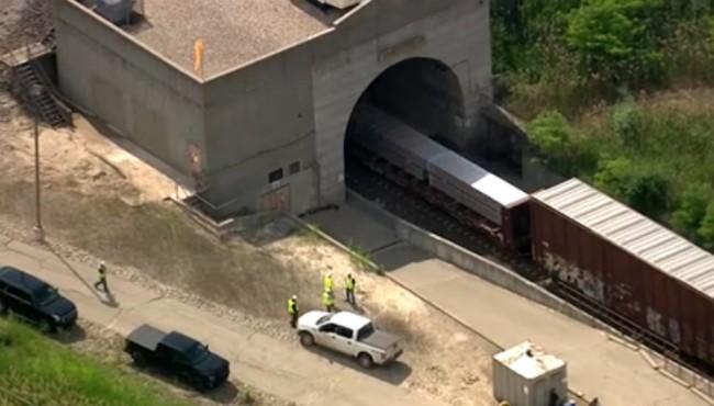 Port Huron freight derailment 062819