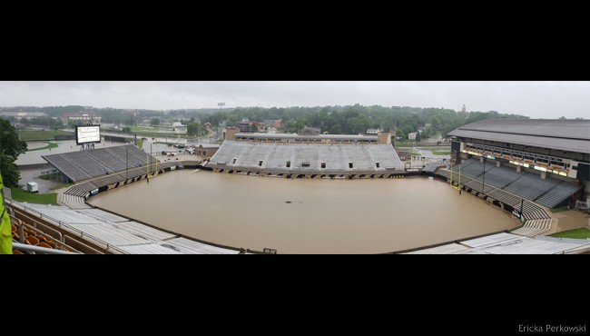 Waldo Stadium Flooding