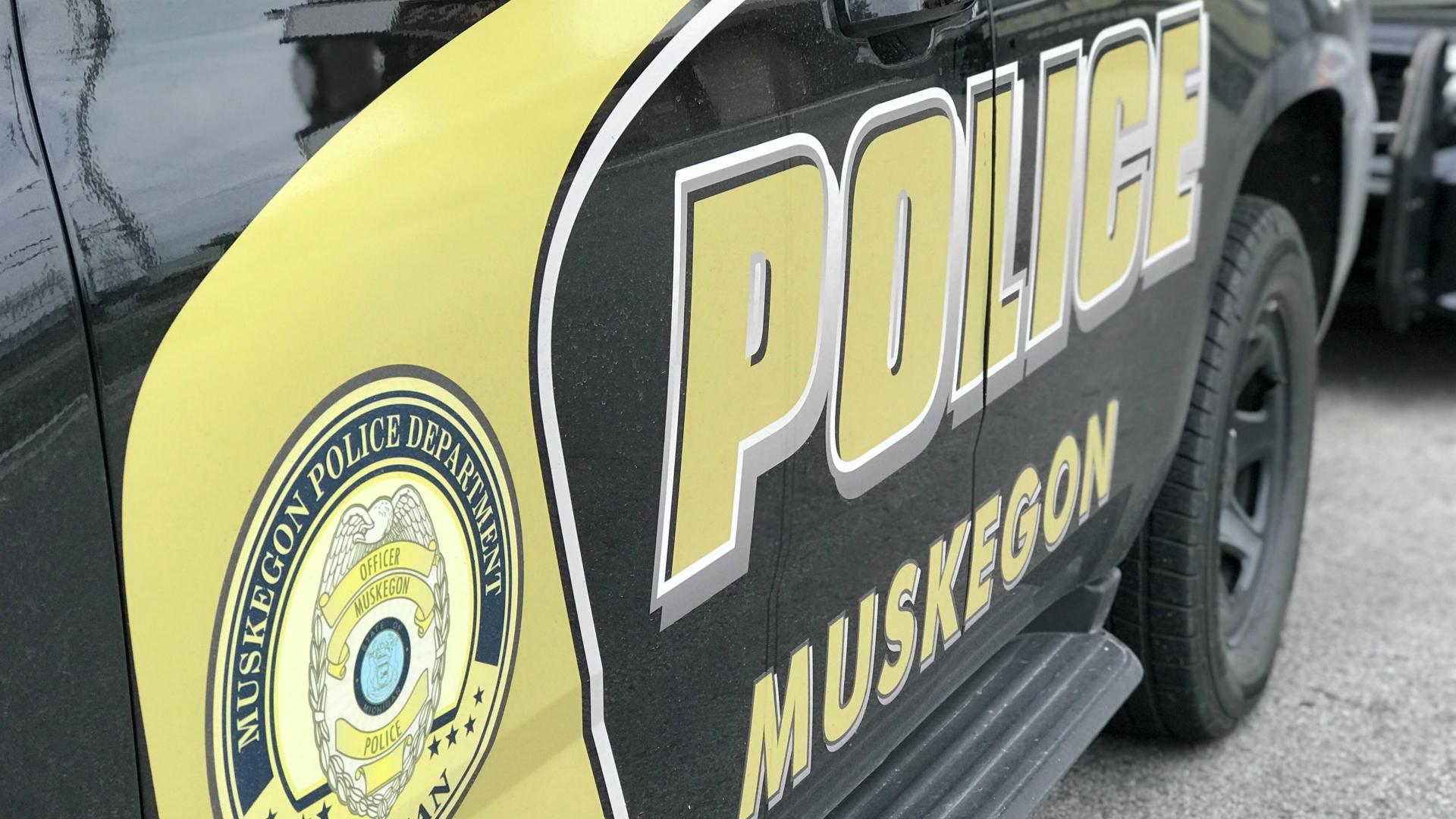 Muskegon police cruiser