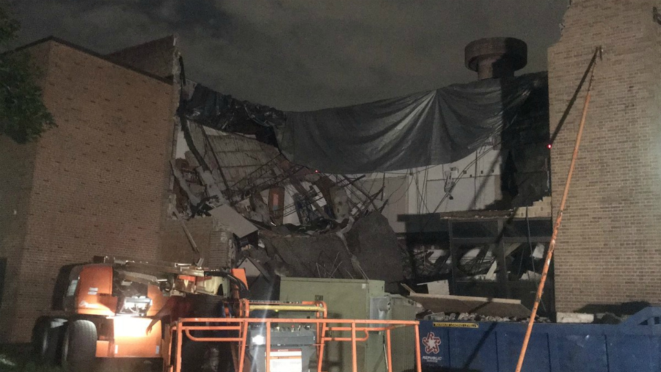 Lee Middle & High School collapse