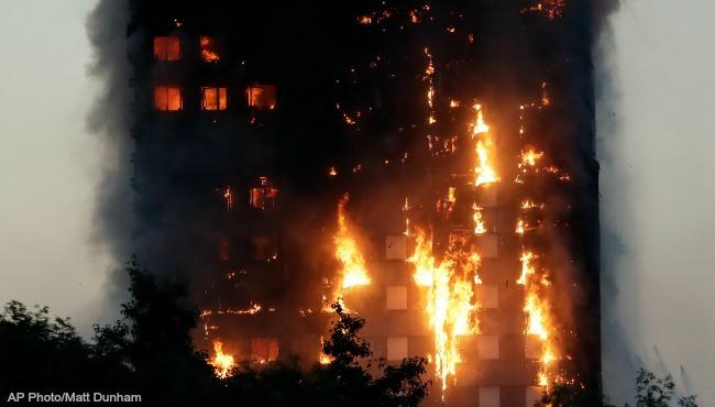 London Grenfell Tower fire 061417 AP_354096