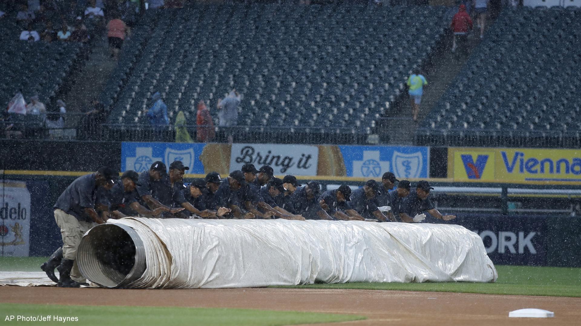 Tigers White Sox tarp