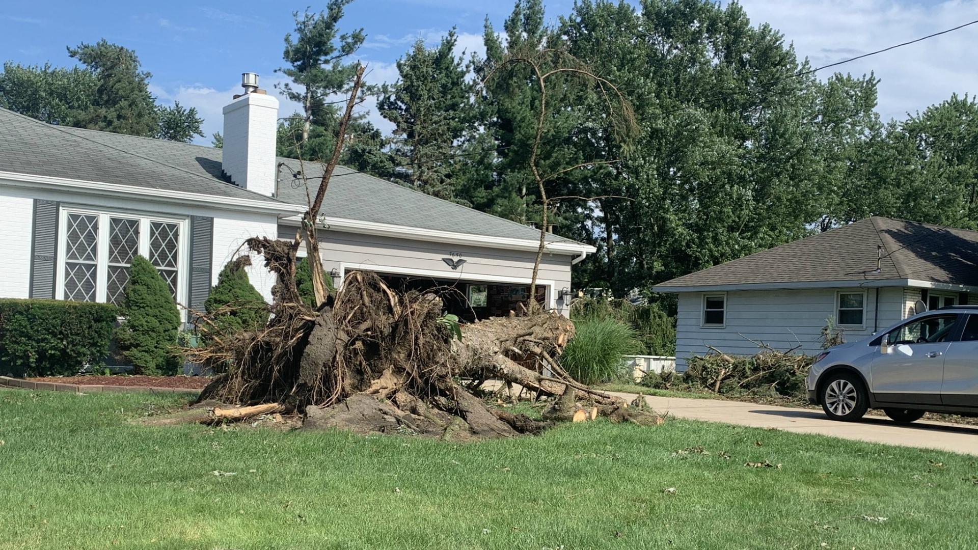 jenison storm damage