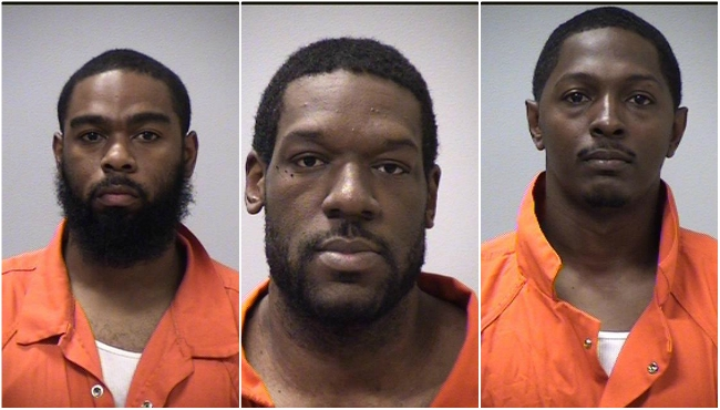 From the left: Clifford Mathis, Edgar Butler and Karl Butler. Photos courtesy of the Kalamazoo Sheriff's Office.