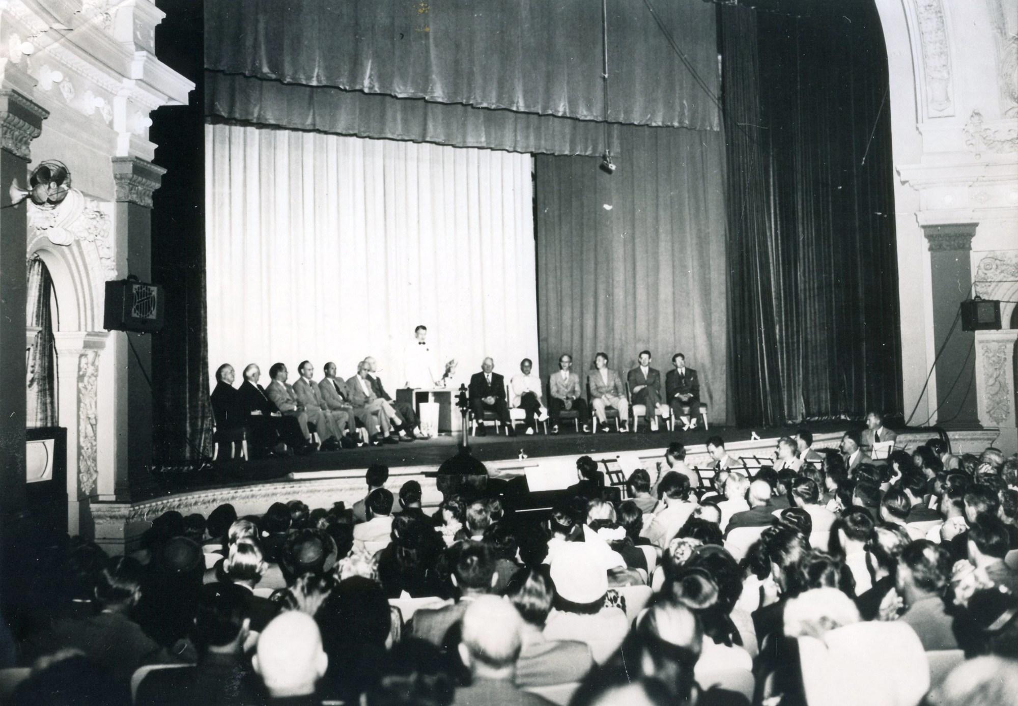 1949 WLAV launch gala