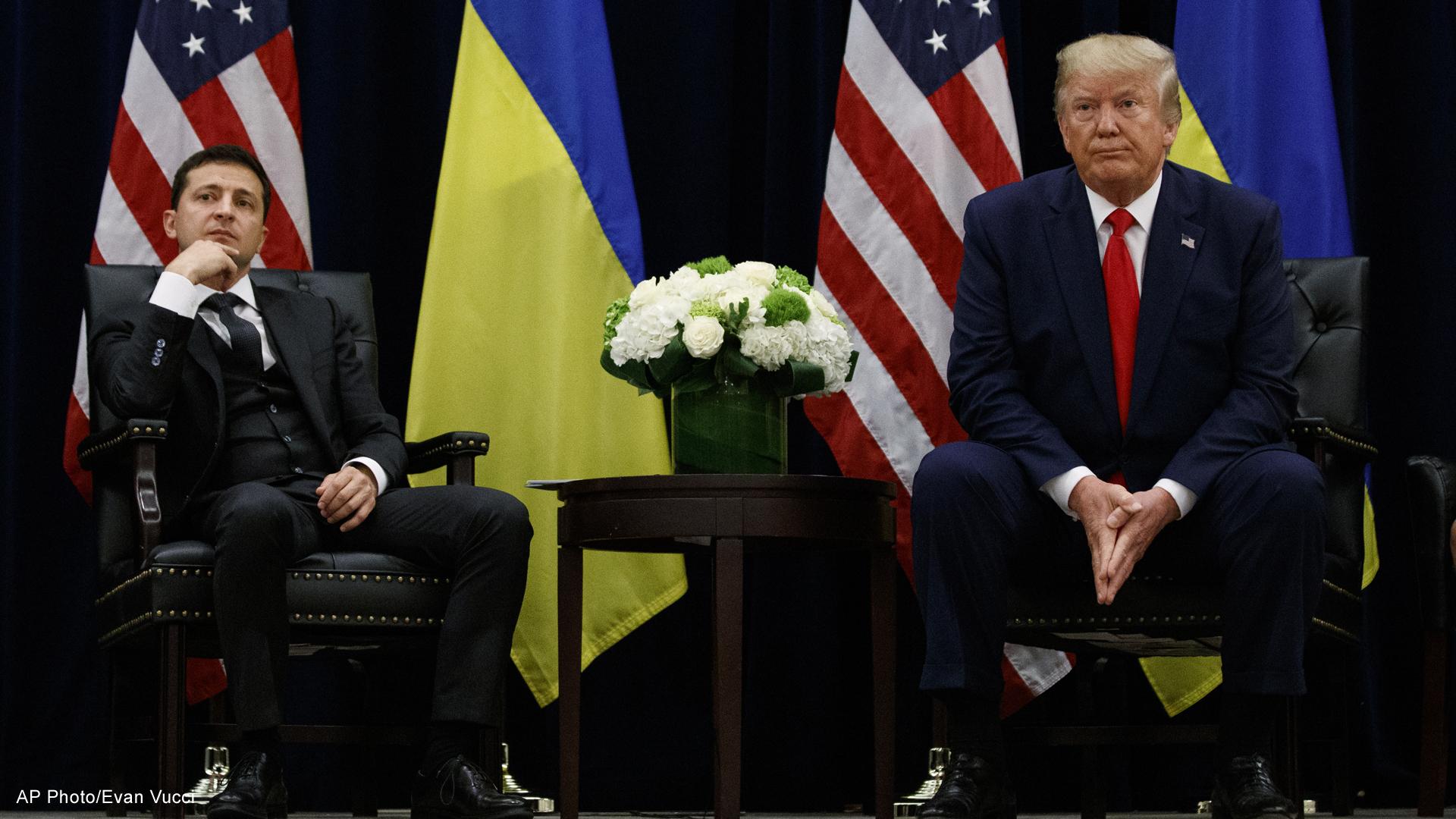 President Donald Trump Ukraines Volodymyr Zelenskiy