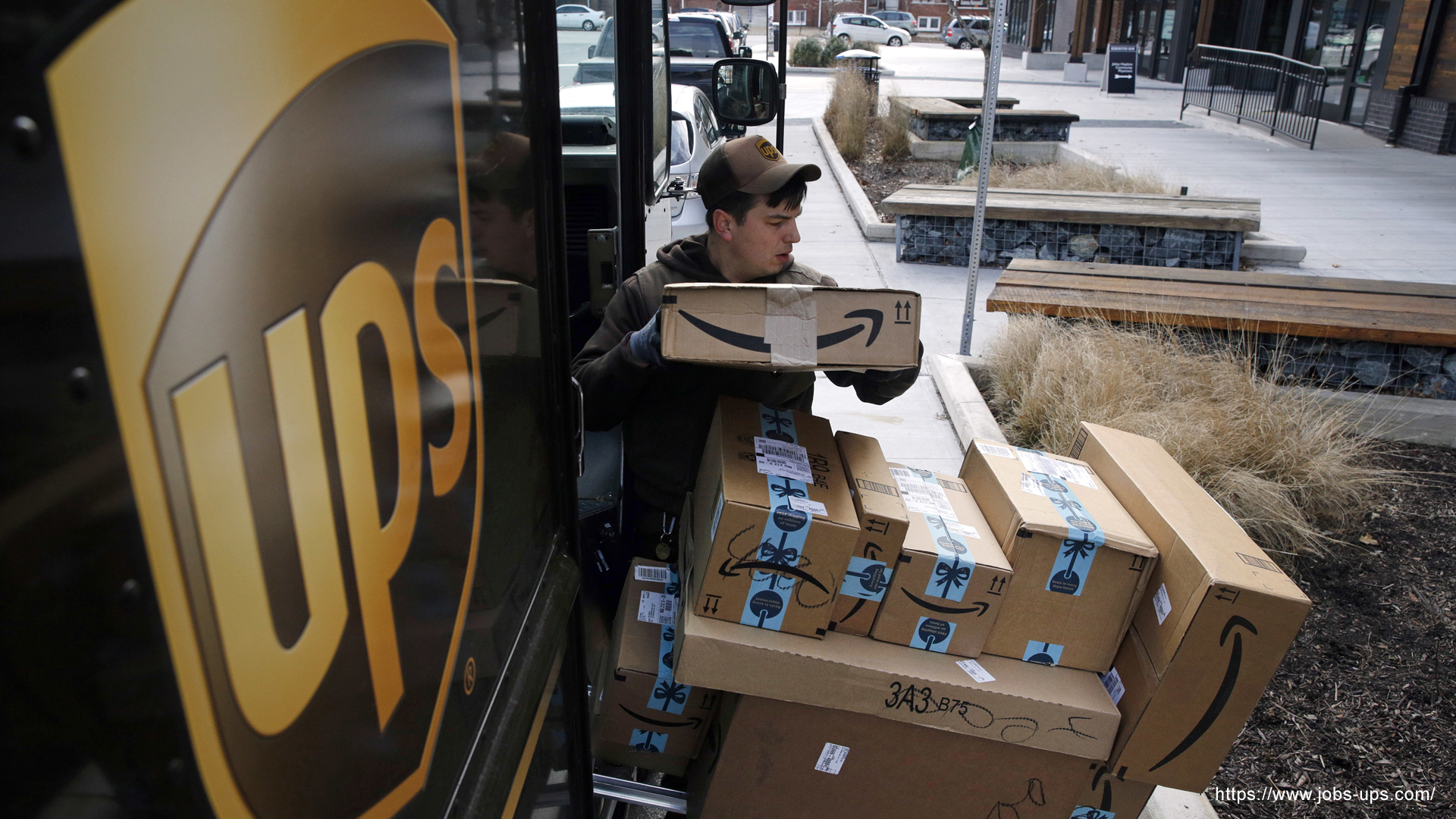 UPS Holiday Hiring