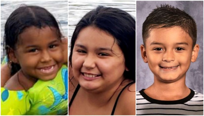 LEFT TO RIGHT: Nicholas Smith, Kaidence Enriquez and Walter Enriquez. (Ottawa County Sheriff's Office)