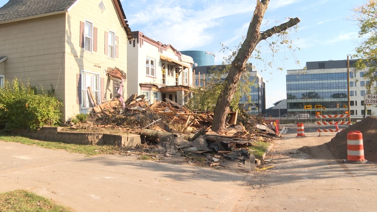 Belknap Lookout storm damage