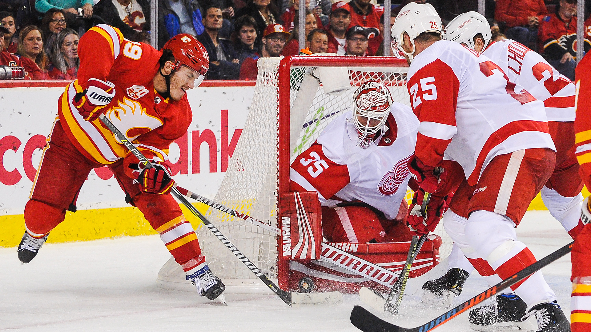 detroit red wings calgary flames